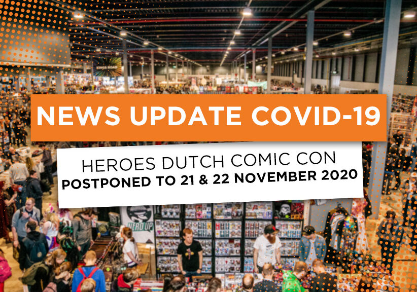 After much delay – Dutch Comic Con will happen in November!